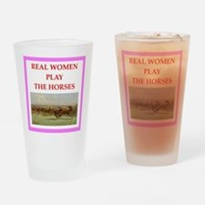 horse race Drinking Glass