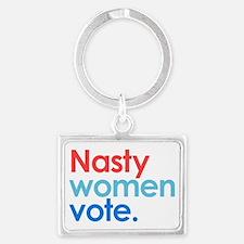 Nasty Women Vote Keychains