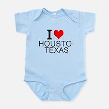 I Love Houston, Texas Body Suit