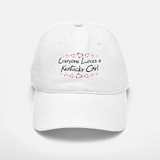 Kentucky Girl Baseball Baseball Cap