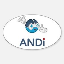 ANDi - Your Personal Gaming Assistant Decal
