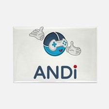 ANDi - Your Personal Gaming Assistant Magnets