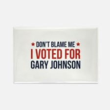 Don't Blame Me Rectangle Magnet (100 pack)