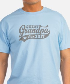 Great Grandpa Est. 2017 T-Shirt