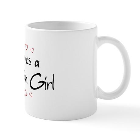 North Charleston Girl Mug