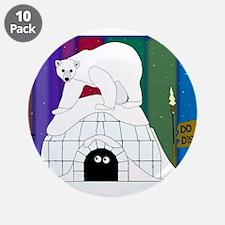 "Polar Night 3.5"" Button (10 pack)"