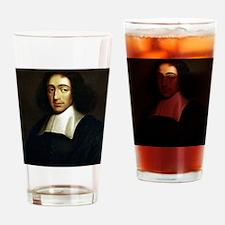 Cute Baruch spinoza Drinking Glass