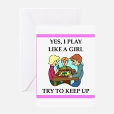 board games Greeting Cards