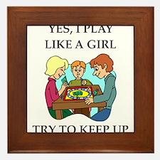board games Framed Tile
