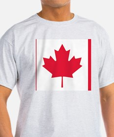 Cool Marijuana canadian flag T-Shirt