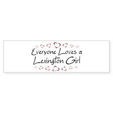 Lexington Girl Bumper Bumper Sticker