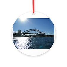 Sydney Harbour Bridge Ornament (Round)