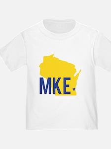 MKE Blue & Yellow T-Shirt