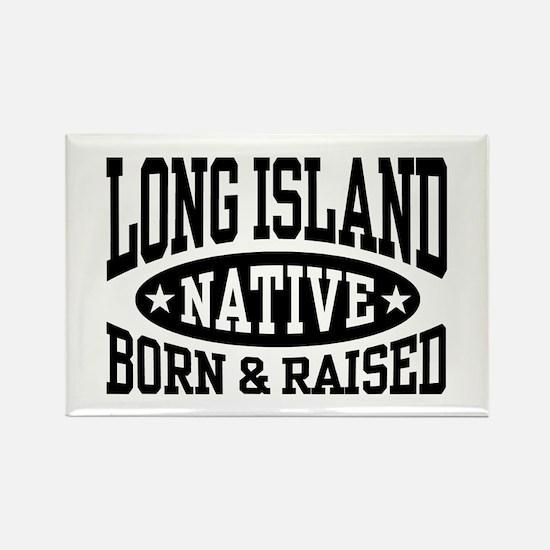 Long Island Native Rectangle Magnet