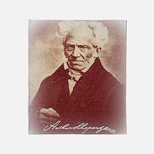 Cute Schopenhauer Throw Blanket