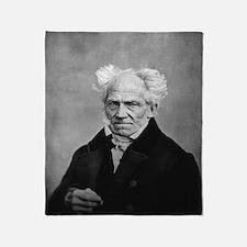 Cool Schopenhauer Throw Blanket