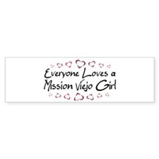 Mission Viejo Girl Bumper Bumper Sticker