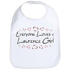Lawrence Girl Bib