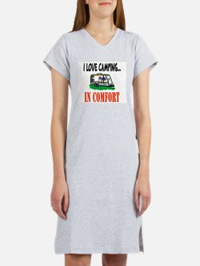 Funny Camping Women's Nightshirt