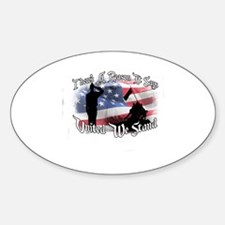 Unique United we stand Sticker (Oval)