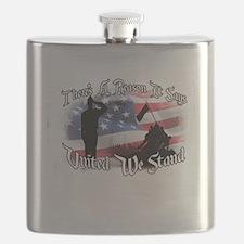 Cute United we stand Flask