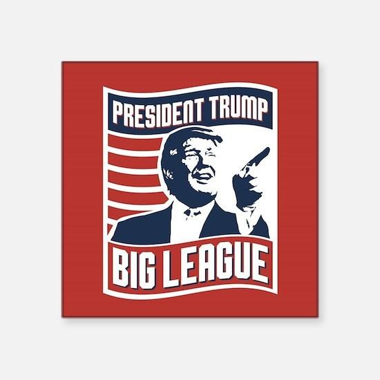 """President Trump Square Sticker 3"""" x 3"""""""