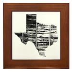Real Texas Framed Tile