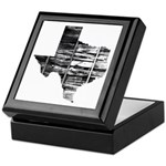 Real Texas Keepsake Box
