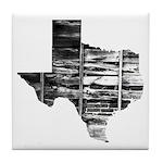 Real Texas Tile Coaster