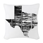 Real Texas Woven Throw Pillow