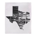 Real Texas Throw Blanket