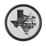 Real Texas Large Wall Clock