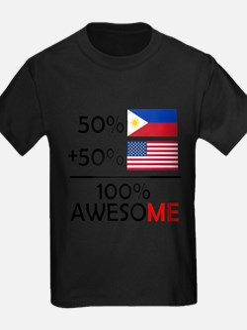 Half Filipino Half American T-Shirt