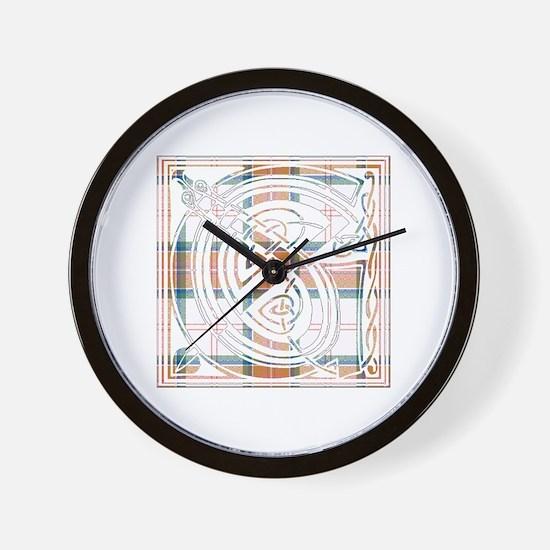 Monogram - Grant of Auchnarrow Wall Clock