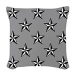 Lone Star Woven Throw Pillow