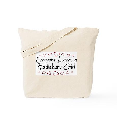 Middlebury Girl Tote Bag