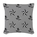 Real Texas Woven Throw Pillow