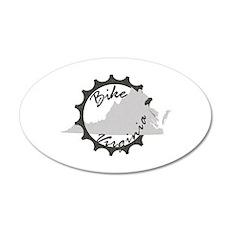 Bike Virginia Wall Sticker