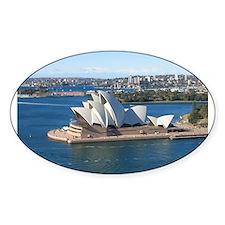 Sydney Opera House Oval Decal