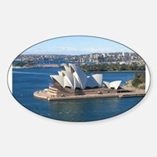 Sydney Opera House Oval Decal