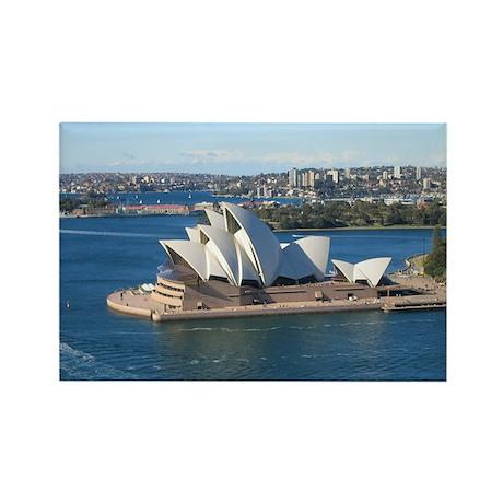 Sydney Opera House Rectangle Magnet