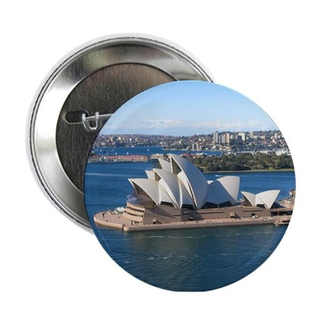 "Sydney Opera House 2.25"" Button"