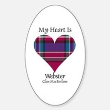 Heart-Webster.MacFarlane Decal