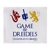 Hanukkah Fleece Blankets