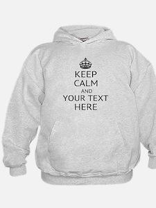 Custom keep calm Hoodie