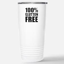 100% Glutton Free Diet Stainless Steel Travel Mug