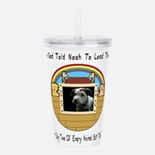 But The Pit Bull Acrylic Double-wall Tumbler