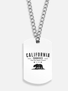California Cannabis Dog Tags