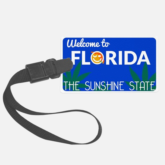 Welcome to Florida Luggage Tag