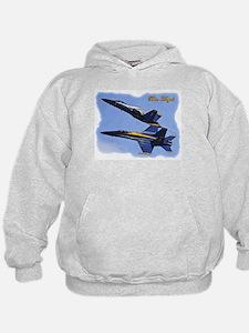 Cool Jet blue Hoodie